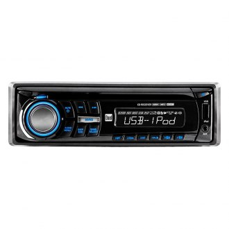 Dual® - Single DIN CD/AM/FM/MP3/WMA Receiver