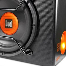 Dual® - 12 Amplified Subwoofer Box