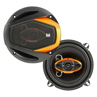 "Dual® - 5-1/4"" 4-Way DLS Series 125W Coaxial Speakers"