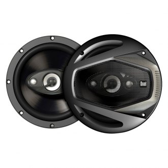 "Dual® - 6-1/2"" 4-Way DLS Series 160W Coaxial Speakers"