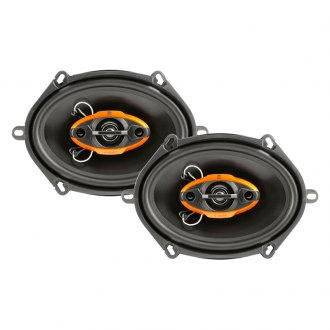 "Dual® - 6"" x 8"" 4-Way DLS Series 125W Coaxial Speakers"