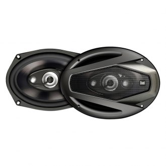 "Dual® - 6"" x 9"" 4-Way DLS Series 200W Coaxial Speakers"