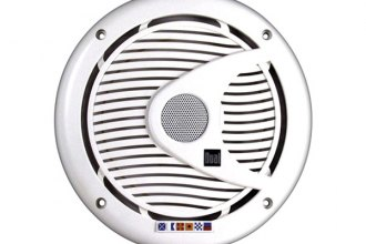 "Dual® - 6-1/2"" Marine 2-Way Poly Cone 175W Speakers"
