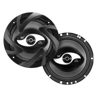 "Dual® - 6-1/2"" 2-Way DS Series 100W Coaxial Speakers"