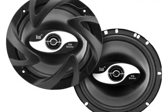 "Dual® - 6.5"" 2-Way 120W Coaxial Speakers"