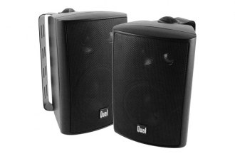 "Dual® - 4"" 3-Way Indoor/Outdoor 100W Speakers"