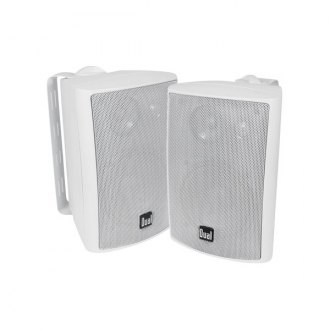 "Dual® - 4"" 3-Way Indoor/Outdoor 4-6 Ohm 100W Speakers"