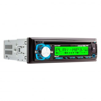 Dual® - Single DIN CD/AM/FM/MP3 Receiver with Built-In Bluetooth and RGB Custom Colors