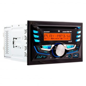 Dual® - Double DIN CD/AM/FM/MP3 Receiver with Built-in Bluetooth and RGB Custom Colors