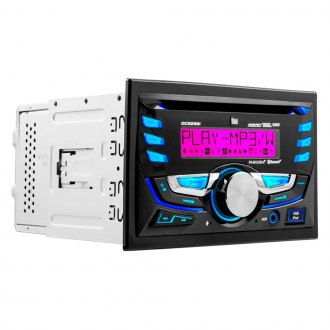 Dual® - Double DIN CD/AM/FM/MP3/WMA Receiver with Built-In Bluetooth, USB Playback and Pandora