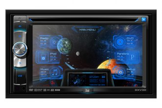 "Dual® - 6.2"" Double DIN Receiver DVD/CD (Steering Wheel Control)"