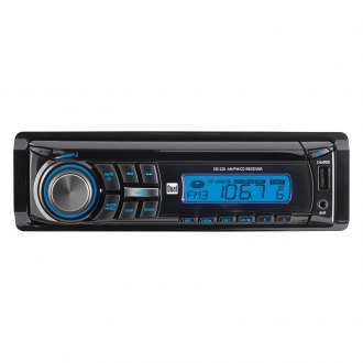 Dual® - Single DIN CD/MP3/WMA/AM/FM/USB