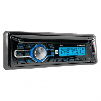 Dual® - Single DIN CD/AM/FM Receiver with USB Charge Port
