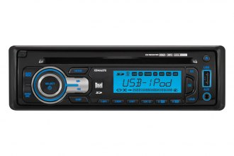 Dual® - Single DIN AM/FM/CD/MP3/WMA Receiver with iPod Control