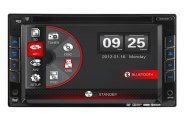 Dual® - 6.2'' Double DIN Receiver DVD/CD Reciever (Bluetooth, USB/SD)