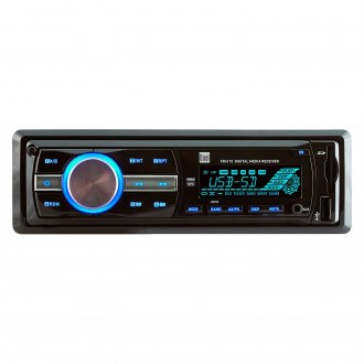 Dual® - Single DIN AM/FM/MP3/WMA Mechless Receiver with USB