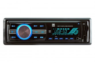 Dual® - Single DIN In-Dash Mechless Receiver