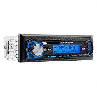 Dual® - Single DIN AM/FM/MP3/WMA Digital Media Receiver with USB and Auxiliary Inputs
