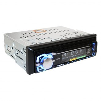 Dual® - Single DIN AM/FM/MP3/WMA Mechless Receiver with USB and SD