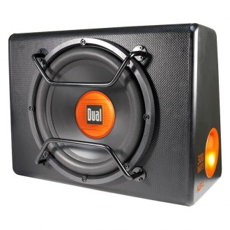 "Dual® - 12"" ALB Series Single Ported Powered 300W Subwoofer Enclosure"