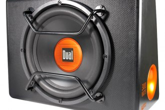 "Dual® - 12"" Amplified Subwoofer Box"