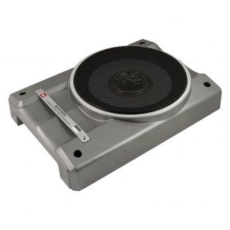 "Dual® - 10"" Compact Series Single Low Profile Sealed Powered 1500W Subwoofer Enclosure"