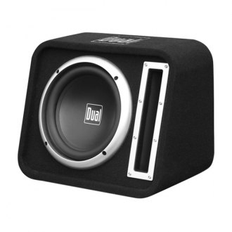"Dual® - 10"" SBX Series Single Vented Passive 500W Subwoofer Enclosure"
