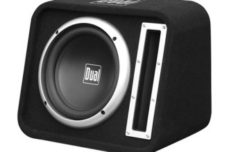 "Dual® - 10"" Single Vented 500W Subwoofer Enclosure"