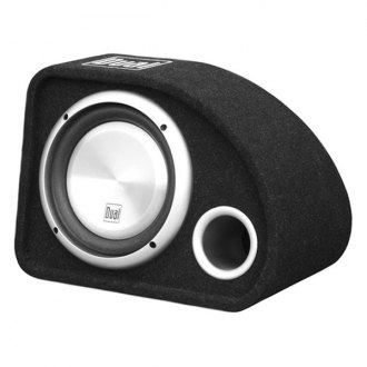 "Dual® - 10"" SBX Series Single Ported Passive 500W Subwoofer Enclosure"