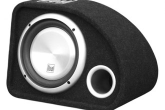 "Dual® - 10"" Single 500W Vented Subwoofer Enclosure"