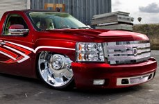 DUB® - BANDITO Chrome on Chevy Silverado