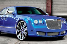 DUB® - MAMBA Chrome with Custom Painted Inserts on Chrysler 300C