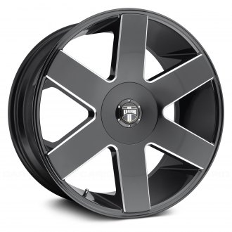 DUB® - BALLER SIX Gloss Black with Milled Accents