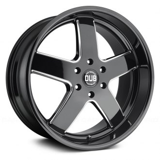 DUB® - BIG BALLER Gloss Black with Milled Accents