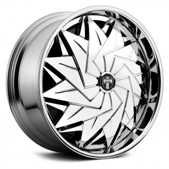 DUB® - DAZR Chrome with Black Base