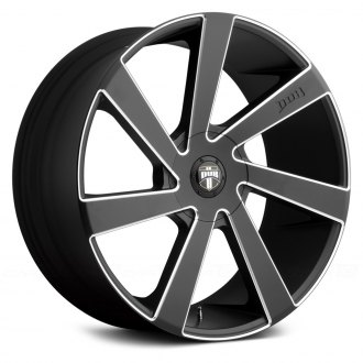 DUB® - DIRECTA Black with Milled Accents
