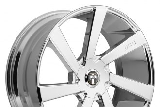 "DUB® - DIRECTA Chrome (22"" x 9.5"", +10 Offset, 5x139.7 Bolt Pattern, 87.1mm Hub)"