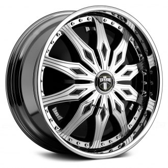 DUB® - FAMOUS Chrome with Black Base