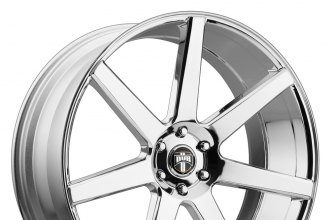 "DUB® - FUTURE Chrome (24"" x 10"", +30 Offset, 6x139.7 Bolt Pattern, 78.1mm Hub)"