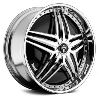 DUB® - GHETTO BANDIT Chrome with Black Base