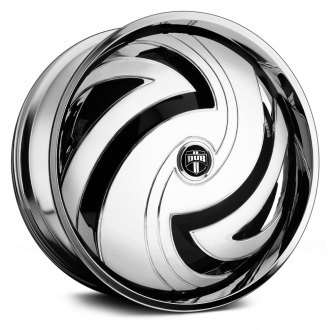 DUB® - HURRICAYNE Chrome with Black Base