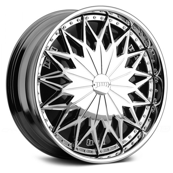 DUB® - JOKER Chrome with Black Base