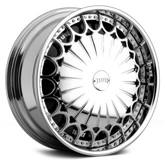 DUB® - KINGSTER Chrome with Black Base