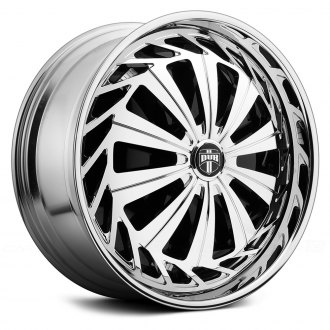 DUB® - KRZY Chrome with Black Base