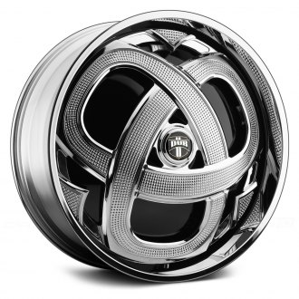 DUB® - MARKEE Chrome with Black Base