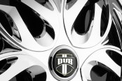 DUB® - MUSE Chrome with Black Base Close-Up