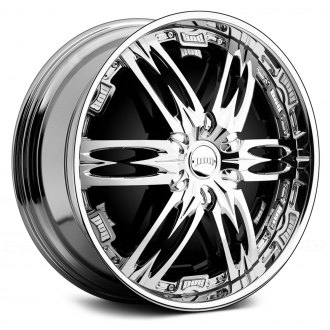 DUB® - NASTY Chrome with Black Base