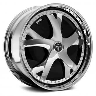 DUB® - NOTORIOUS Chrome with Black Base