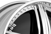 DUB® - PADRONE Chrome with Black Base Close-Up