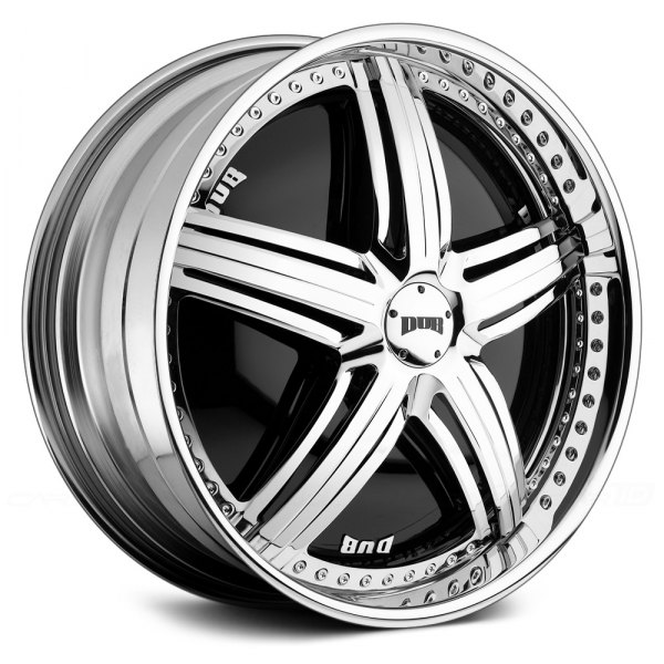 DUB® - PADRONE Chrome with Black Base